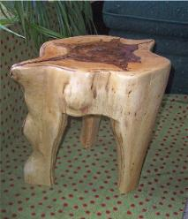 tree, stump, stool, chair, log, furniture, ted frumkin
